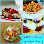 Avocado Bacon & Eggs, Chocolate Cherry Cheesecake, & Make Ahead Honey Vanilla Parfaits