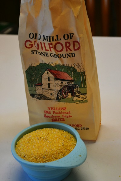 Stone Ground Grits for Shrimp & Grits