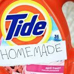 Homemade Liquid Laundry Detergent with the Power of TIDE!!