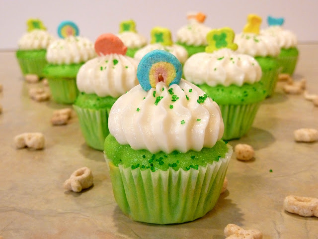 Lucky Charms Cupcakes. Yep, seriously.