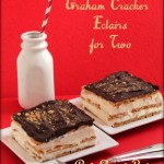 Graham Cracker Eclairs
