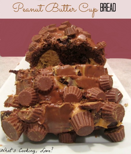 Peanut Butter Cup Bread