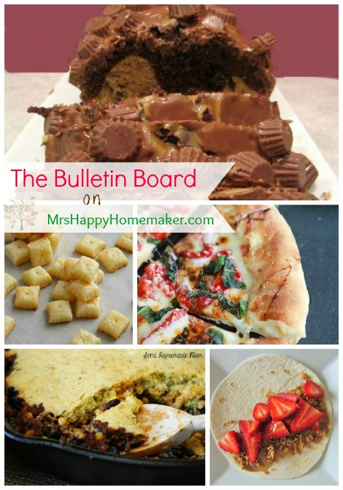 The Bulletin Board on MrsHappyHomemaker.com