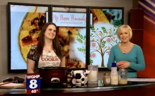 Mrs Happy Homemaker on Fox 8 News