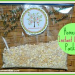 Homemade Instant Oatmeal Packets! Storebought instant oatmeal costs about $0.85/packet & these homemade ones break down to just $0.10 a pack!