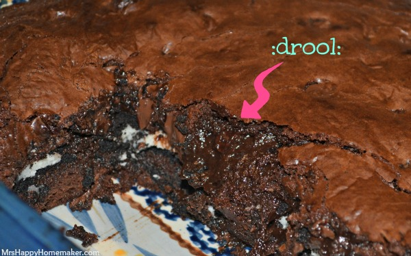 Cookies & Cream Fudgy Oreo Brownies
