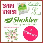 Get clean naturally with Shaklee!