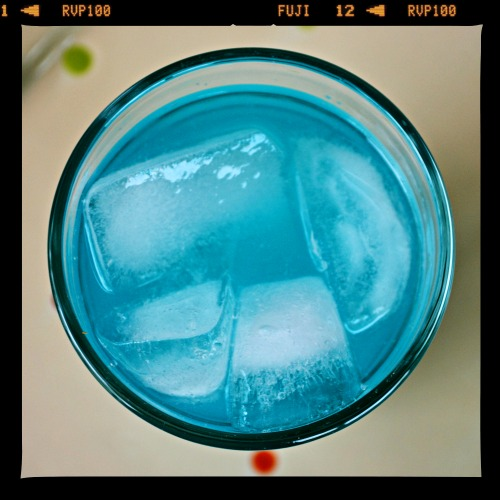 Tiffany Punch - just 2 ingredients & tastes likes a  jolly rancher!