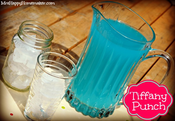 Tiffany Punch - just 2 ingredients & tastes like a jolly rancher!