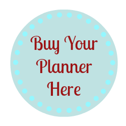 Buy Your Blog Planner!