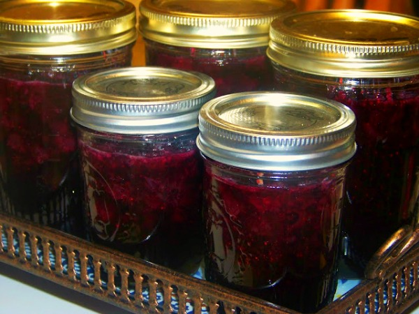 Easy Lemon Blueberry Jelly