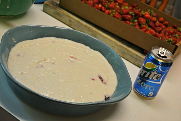 Low Calorie Strawberry Cobbler