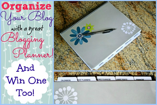 Organize Your Blog with a Planner!