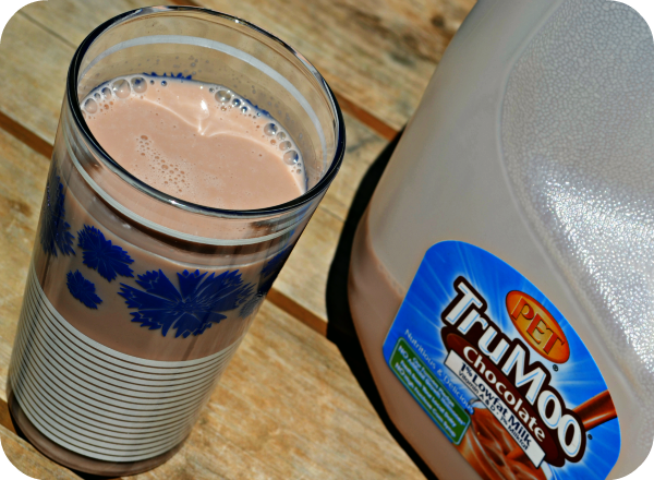 TruMoo Chocolate Milk, yum!