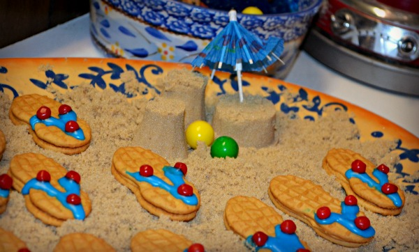 Flip Flop Cookies