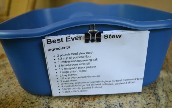 Menu Planning Meal Boxes