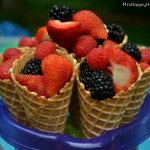 Fresh Fruit Cones
