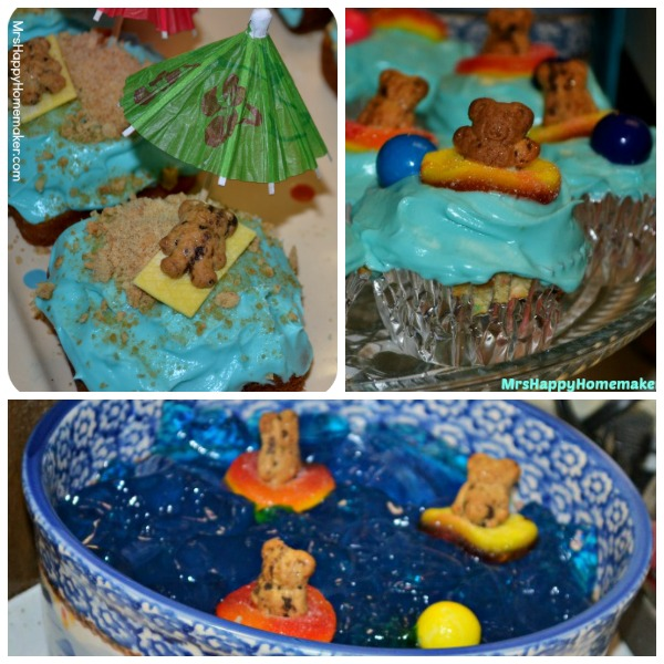 Easy Summer Cupcakes With Teddy Grahams