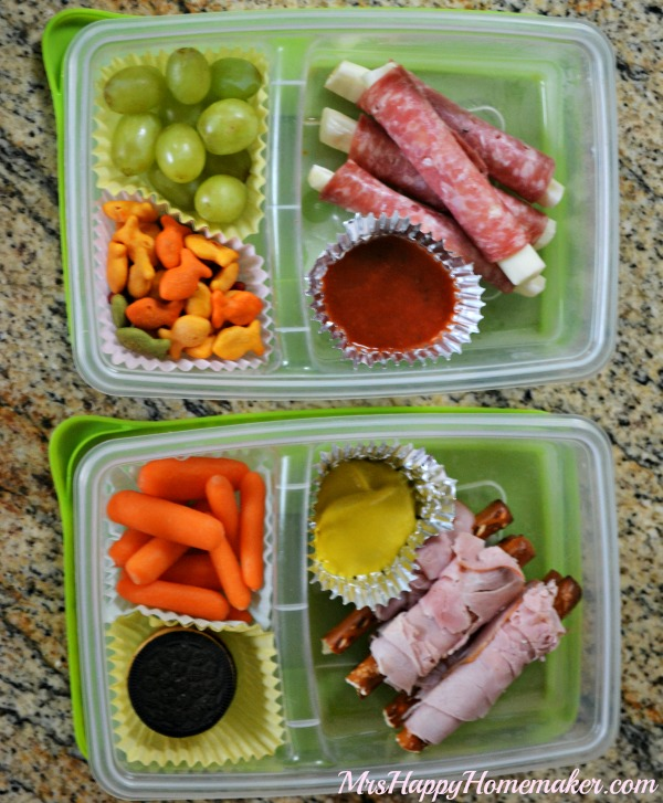 No Fuss Dippin' It Lunchables