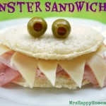 Easy Monster Sandwiches