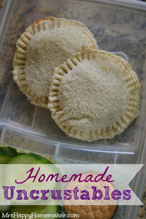 Homemade Uncrustables