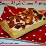 Bacon Maple Cream Pastries