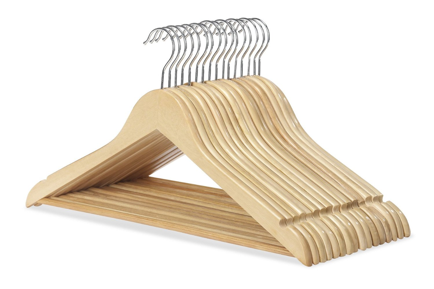 Make Room in Your Closet with Soda Can Tabs on the Hangers!