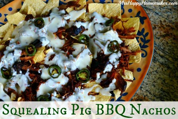 Pig Squealing BBQ Nachos