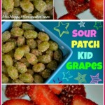 Sour Patch Kid Grapes AND Skittles Strawberries!