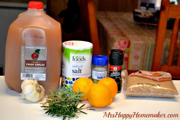 My Favorite Brine (Great for Turkey or Chicken!) - Mrs Happy Homemaker