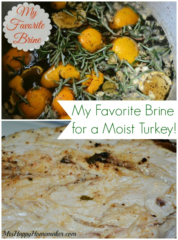 My Favorite Turkey Brine