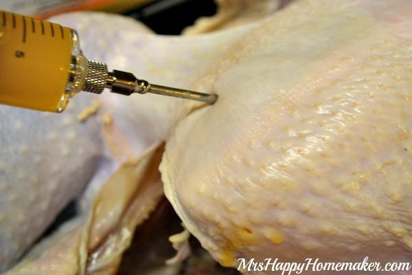 Homemade Cajun Butter Injection