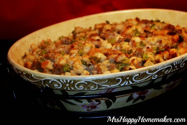 Easy Savory Sausage Stuffing