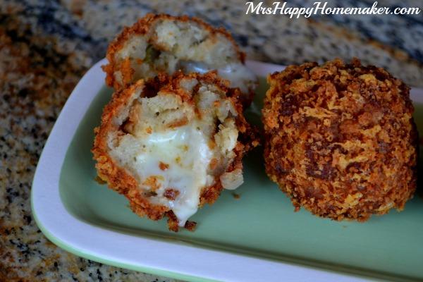 Mozzarella Stuffing Balls