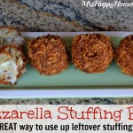 Mozzarella Stuffing Balls – Great Use for Leftover Stuffing!