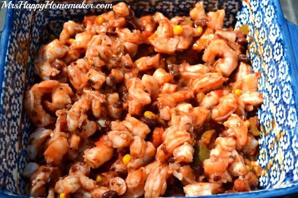 Easy Low-Cal Shrimp Tacos