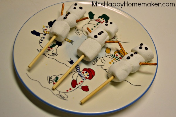 Snowmen on a Stick