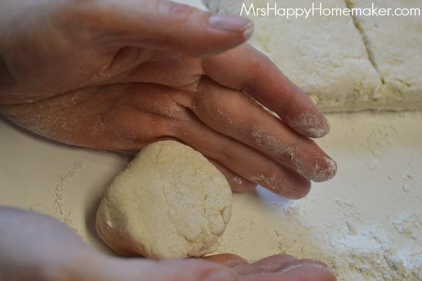 3 Ingredients Cream Biscuits