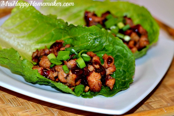 Asian Style Lettuce Wraps {Copycat PF Chang's}