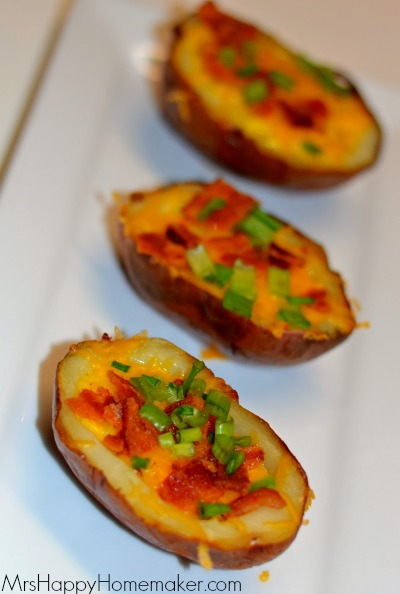 Breakfast Stuffed Potatoes