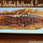 Bacon Stuffed Buttermilk Pancakes