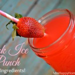 Pink Ice Punch – Just 2 Ingredients!