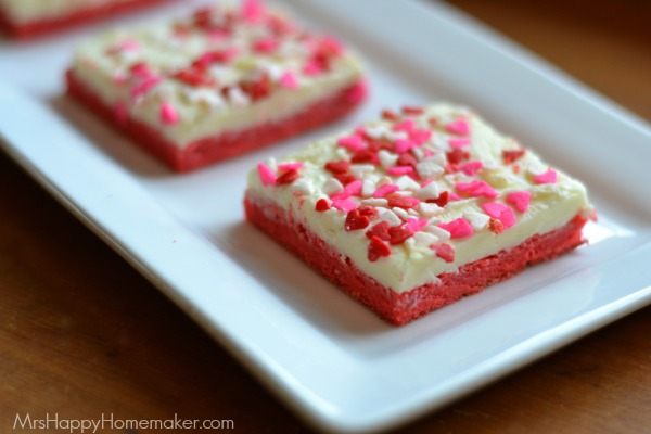White Chocolate Cookie Squares