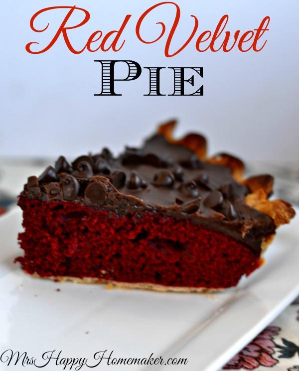 Red Velvet Pie