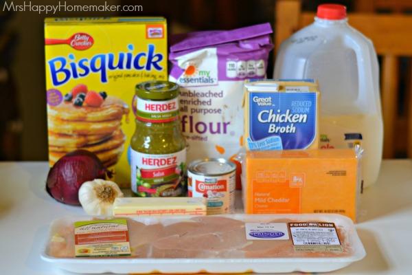 Salsa Verde Chicken & Biscuits