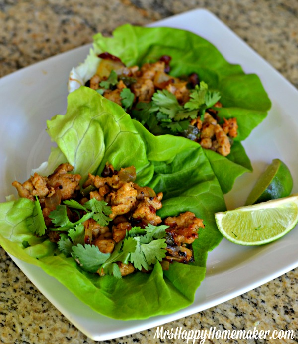 Chipotle Chicken Lettuce Wraps