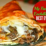 The BEST EVER Enchiladas
