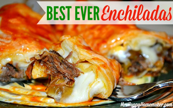 Best ever enchiladas mrs happy homemaker the best ever enchiladas forumfinder Choice Image