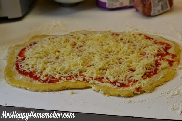 Pizza Swirl Buns