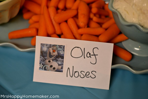 Frozen Birthday Party- Olaf Noses